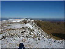 SJ0732 : Cadair Berwyn's old summit by Richard Law