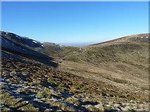 SJ0733 : Towards Bwlch Maen Gwynedd by Richard Law