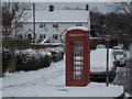 ST8304 : Winterborne Stickland: the telephone box by Chris Downer