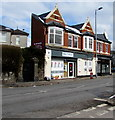 ST3087 : St Woolos Stores and post office, Stow Hill, Newport by Jaggery