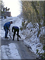 ST5250 : Clearing the ice off the road by Neil Owen