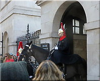 TQ3080 : Gatehouse, Horse Guards by Rudi Winter
