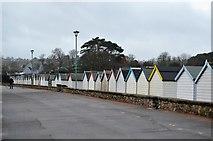 SX8959 : Beach huts, Goodrington Sands by N Chadwick