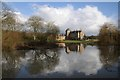 SP2852 : Walton Hall reflected in the lake by Philip Halling