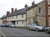 SU0061 : Houses on Bridewell Street, Devizes by Robin Webster