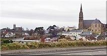 J4844 : Down Cathedral and St Patrick's Catholic Parish Church, Downpatrick by Eric Jones