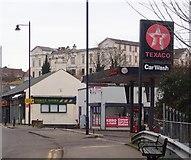 J4844 : Corner Service Station at the far end of St Patrick's Avenue, Downpatrick by Eric Jones