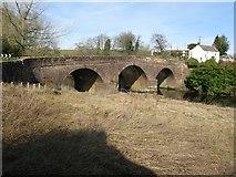 NX9479 : New Bridge in Newbridge, north of Dumfries by G Laird