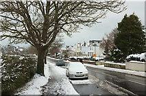SX9065 : Cricketfield Road, Torre, in the snow by Derek Harper