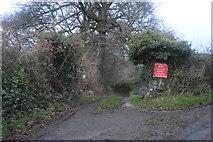 SX4975 : No through road by N Chadwick