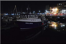 SX4854 : MBA Sepia, Sutton Harbour by N Chadwick