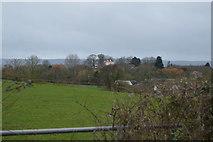 SX9887 : Field by Ebford Lane by N Chadwick