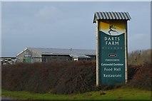 SX9788 : Darts Farm Village by N Chadwick