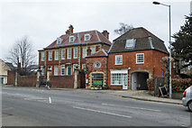 SU0061 : Brownstone House and Chan Cottage, Devizes by Robin Webster