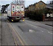 ST3090 : Castell Howell lorry, Pillmawr Road, Malpas, Newport by Jaggery