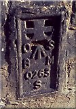 TM3389 : Flush Bracket OSBM 0263S Bungay St Marys Street by Cud05