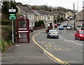SN4801 : Vehicle speed indicator, Pwll Road, Pwll, Carmarthenshire by Jaggery