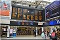 TQ3080 : Information boards, Charing Cross Station by N Chadwick
