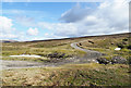 NY6941 : Mine level beside hairpin bend by Trevor Littlewood