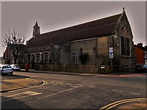 SU1585 : St Luke, Broad Street, Swindon by Chris Brown