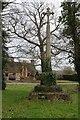 ST9383 : Village cross in Rodbourne by Philip Halling