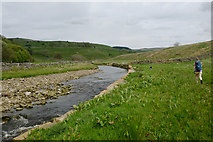 NY7346 : River Nent below Blagill by Andy Waddington