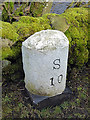 SD7686 : Milestone by Cow Dub Bridge by John Lucas