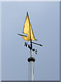 TQ9595 : Weather vane, Royal Corinthian Yacht Club, Burnham-on-Crouch : Week 13
