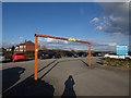 SE2824 : Ardsley Reservoir: car park by Stephen Craven