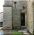 SJ9497 : Old Chapel Vestry door by Gerald England