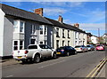 SO3700 : On-street parking, Maryport Street, Usk by Jaggery