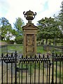 SJ9497 : Memorial to Francis Dukinfield Astley by Gerald England