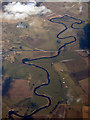 NS9443 : The Carstairs meanders from the air by Thomas Nugent