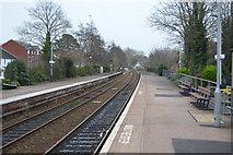 SX9688 : Topsham Station by N Chadwick