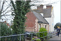 SX9688 : Station buildings, Topsham by N Chadwick