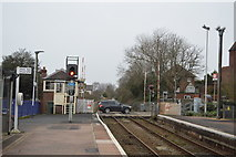 SX9688 : Northern end of Topsham Station by N Chadwick