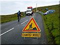 SD8694 : Chantier mobile à la Côte de Buttertubs by Andy Waddington