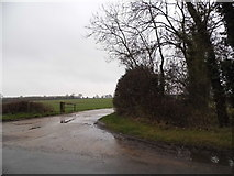 TL9498 : Farm track off Thompson Road, Griston by David Howard