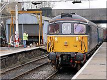 SD8010 : East Lancashire Railway, Captain Bill Smith RNR at Bury by David Dixon