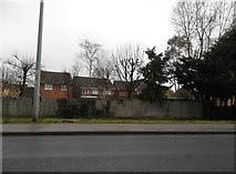 TL8683 : Houses by London Road, Thetford by David Howard