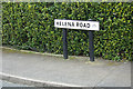 TQ3506 : Helena Road sign by Adrian Cable