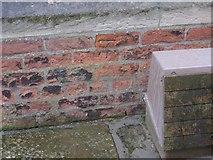TF3387 : Cut Mark: Louth Railway Station by Brian Westlake