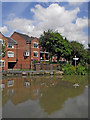 SP3684 : Canalside apartments at Hawkesbury Junction in Warwickshire by Roger  Kidd