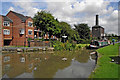 SP3684 : Coventry Canal at Sutton Stop in Warwickshire by Roger  Kidd