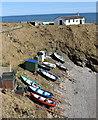 NO9396 : Fishing boats, Portlethen harbour by Bill Harrison