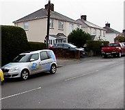 ST3090 : Barking Mad car, Pillmawr Road, Malpas, Newport by Jaggery