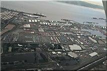 TA1916 : Immingham Docks: aerial 2018 (2) by Chris