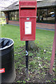 TQ4254 : M25 North Side Postbox by Adrian Cable