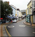 SS5147 : Bend in High Street, Ilfracombe by Jaggery