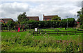 SP3983 : Canalside beer garden in Ansty, Warwickshire by Roger  Kidd